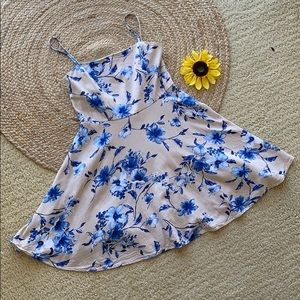 City Studio floral summer mini dress